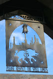 Pueblo de Hogsmeade en el mundo de Wizarding de Harry Potter Fotografía de archivo libre de regalías