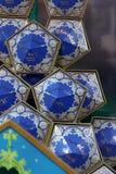 Pueblo de Hogsmeade en el mundo de Wizarding de Harry Potter Fotografía de archivo