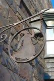 Pueblo de Hogsmeade en el mundo de Wizarding de Harry Potter Imagen de archivo libre de regalías