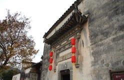 Pueblo de Hong, ciudad de Huangshan, Anhui, China Fotos de archivo libres de regalías