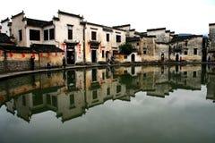 Pueblo de Hong, ciudad de Huangshan, Anhui, China Fotografía de archivo