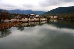 Pueblo de Hong y pueblo de Xidi, ciudad de Huangshan, Anhui, China Fotografía de archivo libre de regalías