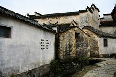 Pueblo de Hong y pueblo de Xidi, ciudad de Huangshan, Anhui, China Fotos de archivo