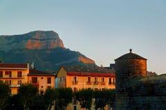 Pueblo de Jaca Imágenes de archivo libres de regalías