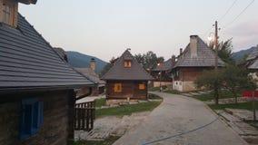 Pueblo de Kusturica fotos de archivo libres de regalías