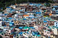 Pueblo 2 de la cultura de Busán Gamcheon Foto de archivo