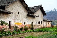 Pueblo de la cultura de Donghuping en China Fotografía de archivo libre de regalías