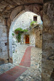 Pueblo de la cumbre del santo Paul de Vence Fotografía de archivo libre de regalías