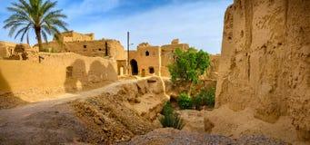 Pueblo de la endecha del ¡de Ð en Irán foto de archivo libre de regalías