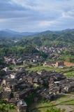 Pueblo de la minoría de Chengyang Imágenes de archivo libres de regalías