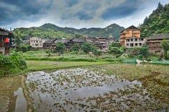 Pueblo de la minoría de Chengyang Imagenes de archivo