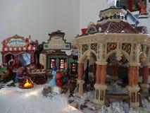 Pueblo de la Navidad Imagen de archivo
