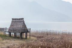 Pueblo de la pila-vivienda de la edad de bronce Imagen de archivo