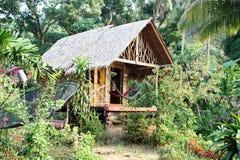 Pueblo de la selva foto de archivo