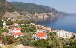 Pueblo de los Ilia, Euboea del norte, Grecia Fotos de archivo libres de regalías