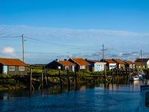 Pueblo de los pescadores Foto de archivo
