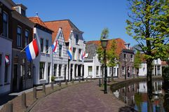 Pueblo de Maasland en los Países Bajos imágenes de archivo libres de regalías