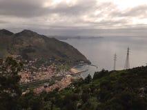 Pueblo de Machico, Madeira Imagen de archivo