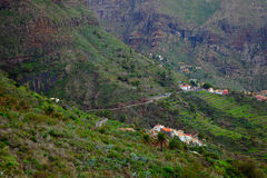 Pueblo de Masca Foto de archivo