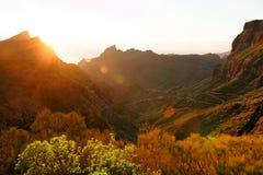 Pueblo de Masca en Tenerife Imagen de archivo libre de regalías