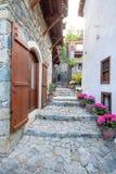 Pueblo de Meditterenean en Chipre, Kalopanayiotis Fotos de archivo