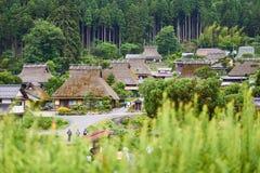 Pueblo de Miyama Imagenes de archivo