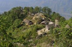 Pueblo de montaña Imágenes de archivo libres de regalías