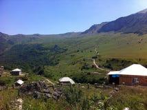 Pueblo de montaña Imagenes de archivo