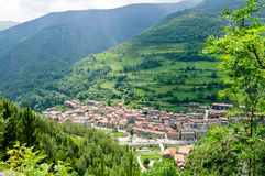 Pueblo de montaña, EL Serrat, España Fotografía de archivo