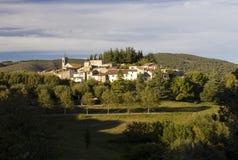Pueblo de montaña francés, Ampus. Imagen de archivo libre de regalías