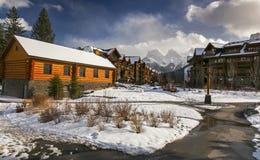 Pueblo de montaña de la cala de la primavera Imagen de archivo libre de regalías