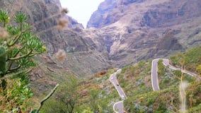 Pueblo de monta?a Maska en Tenerife, islas Canarias, Espa?a metrajes