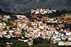 Pueblo de montaña de Gran Canaria Fotos de archivo libres de regalías