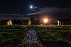 Pueblo de Nighten Fotografía de archivo libre de regalías