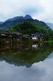 Pueblo de Niujiang Fotos de archivo