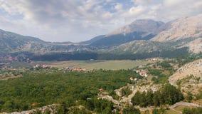 Pueblo de Njegusi montenegro Imagen de archivo libre de regalías