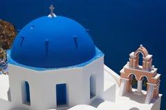 Pueblo de Oia en Santorini, Grecia fotos de archivo libres de regalías