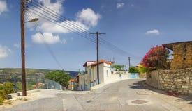 Pueblo de Omodos, Chipre Fotos de archivo libres de regalías