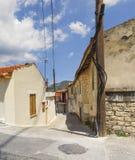 Pueblo de Omodos chipre Fotografía de archivo libre de regalías