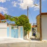 Pueblo de Omodos chipre Fotos de archivo
