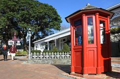 Pueblo de Parnell en Auckland Nueva Zelanda imagenes de archivo