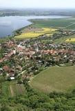 Pueblo de Pavlov en Moravia meridional imagen de archivo