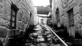 Pueblo de piedra fotografía de archivo