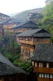 Pueblo de PingAn Imagen de archivo