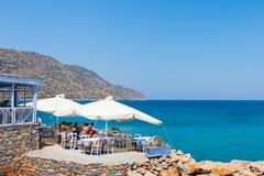 Pueblo de Plaka en Creta fotografía de archivo