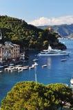 Pueblo de Portofino, Italia, Europa Imágenes de archivo libres de regalías
