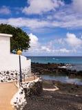 Pueblo de Punta Mujeres, Lanzarote, islas Canarias Fotos de archivo libres de regalías