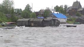 Pueblo de Rabocheostrovsk, Kem almacen de metraje de vídeo