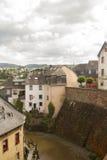 Pueblo de Saarburg Foto de archivo libre de regalías