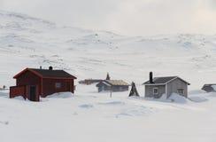 Pueblo de Sami Imagen de archivo libre de regalías